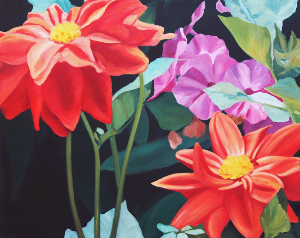 Garden Flowers Art | Lidfors Art Studio