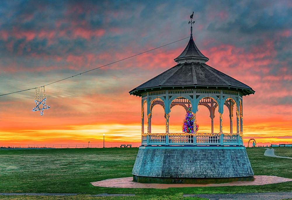Ocean Park Early Winter Sunrise Art | Michael Blanchard Inspirational Photography - Crossroads Gallery