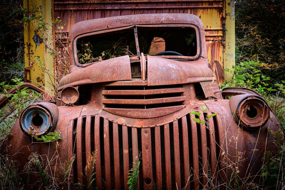 Rusty Chevrolet Truck, Olympic National Park, Washington, 2020