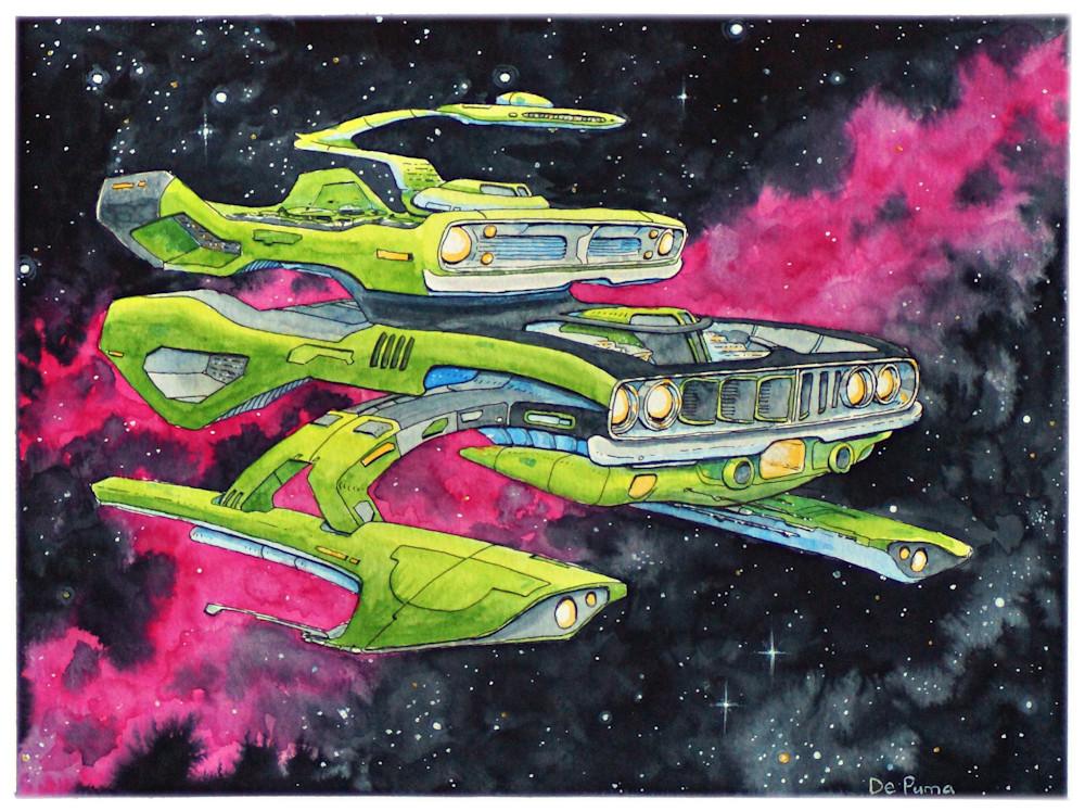 """Intergalactic Muscle"". Barracuda"