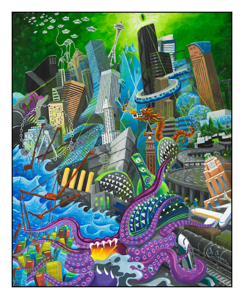 Seattle Terrorscape