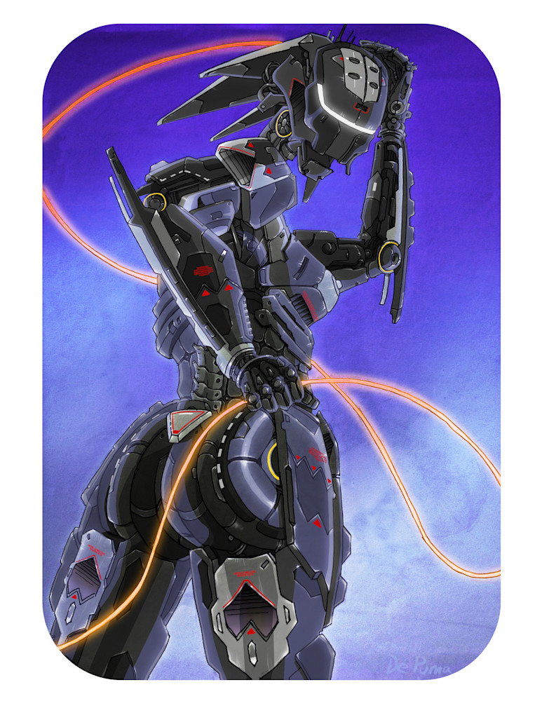 Sexy SR71 Blackbird Robot