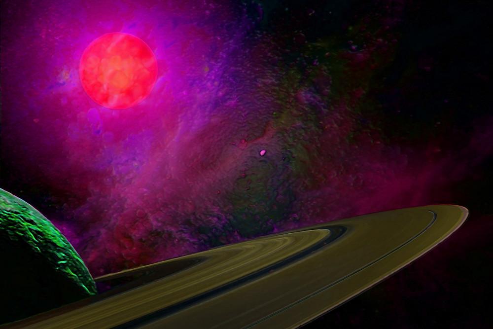 Ringed Planet Art | Don White-Art Dreamer