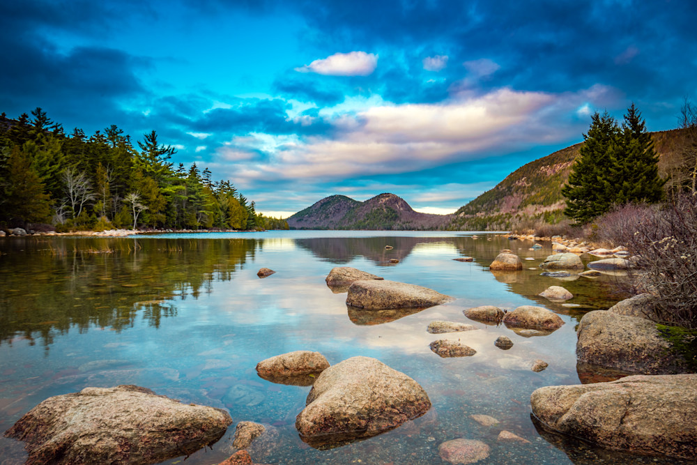 Jordan Pond Afternoon Photography Art | Monteux Gallery