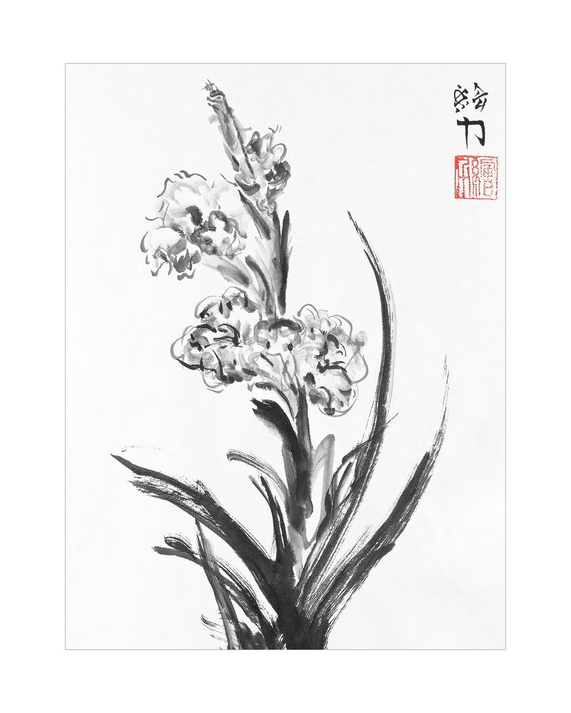 Flower Three Art | HombretheArtist