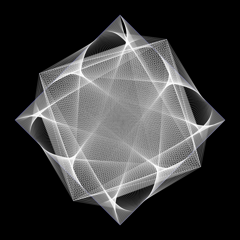 Hypercubic Art | Between Art and Science