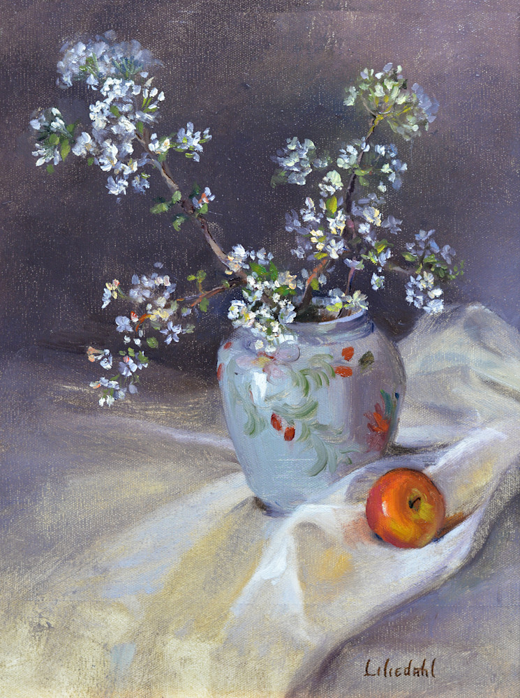 Apple Blossoms and Apple