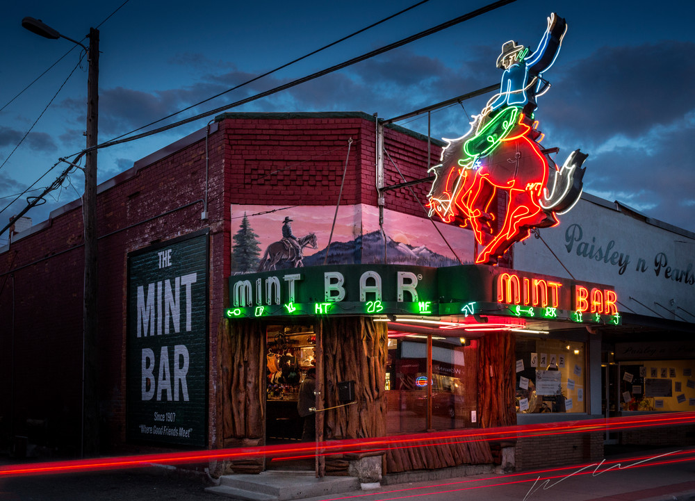 Mint Bar Photography Art | Harry John Kerker Photo Artist