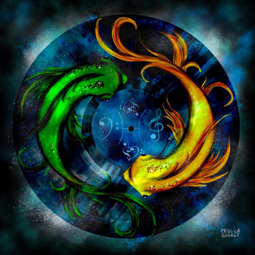 Musical Pisces Art | Priscila Soares - MyLuckyEars