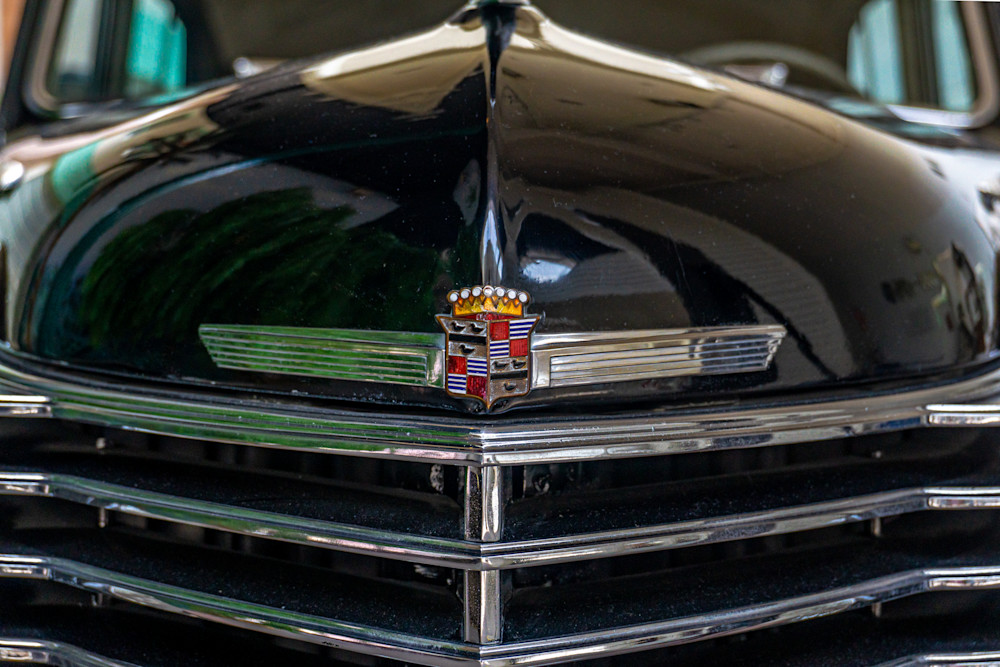 Cadillac Grill Photography Art   Ron Olcott Photography