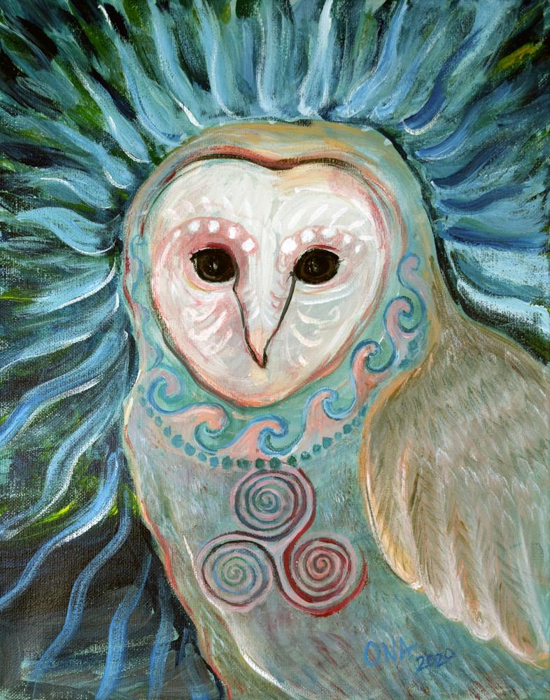 Magical Barn Owl Fine Art Print