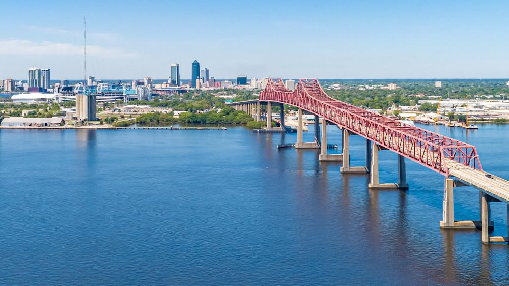 Matthews Bridge Views Photography Art | kramkranphoto