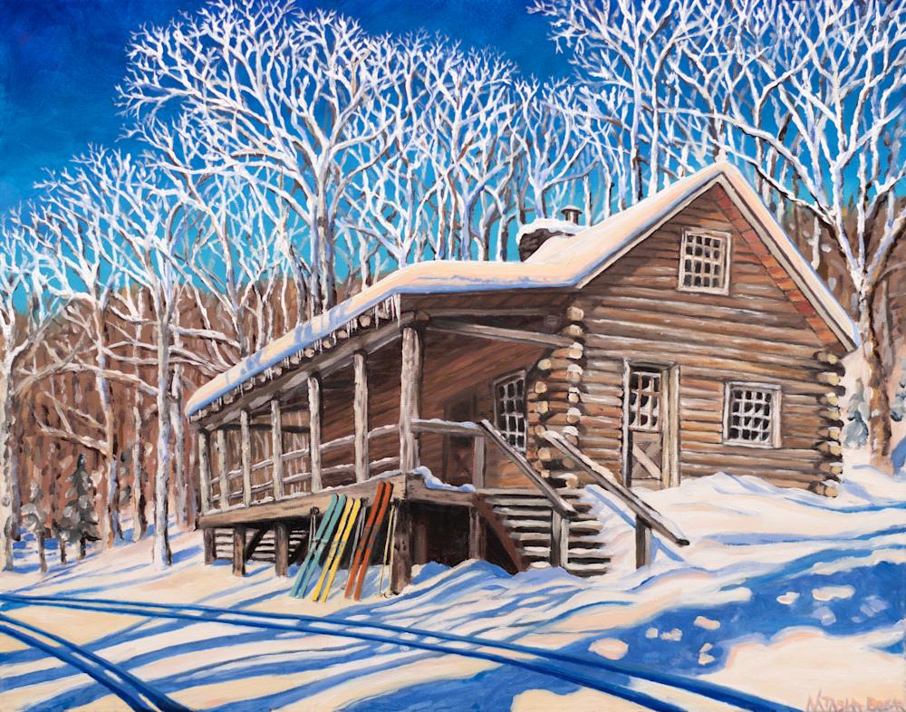Slayton Pasture Cabin Art for Sale
