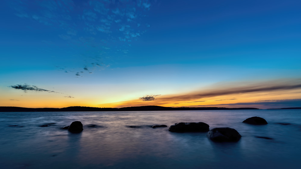 Lake Charlevoix Michigan Sunset Photography Art   Gone Wild Wandering