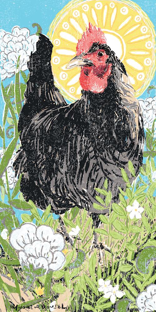 Chicken Saint  Art | Artofandrewdaniel