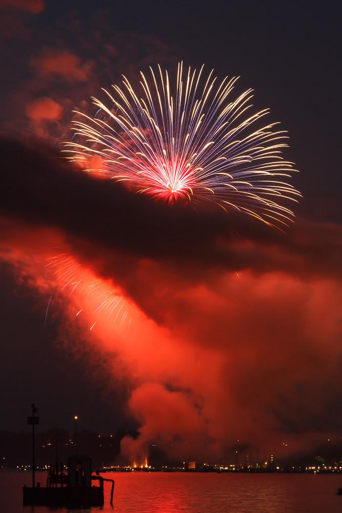 Burlington Fireworks