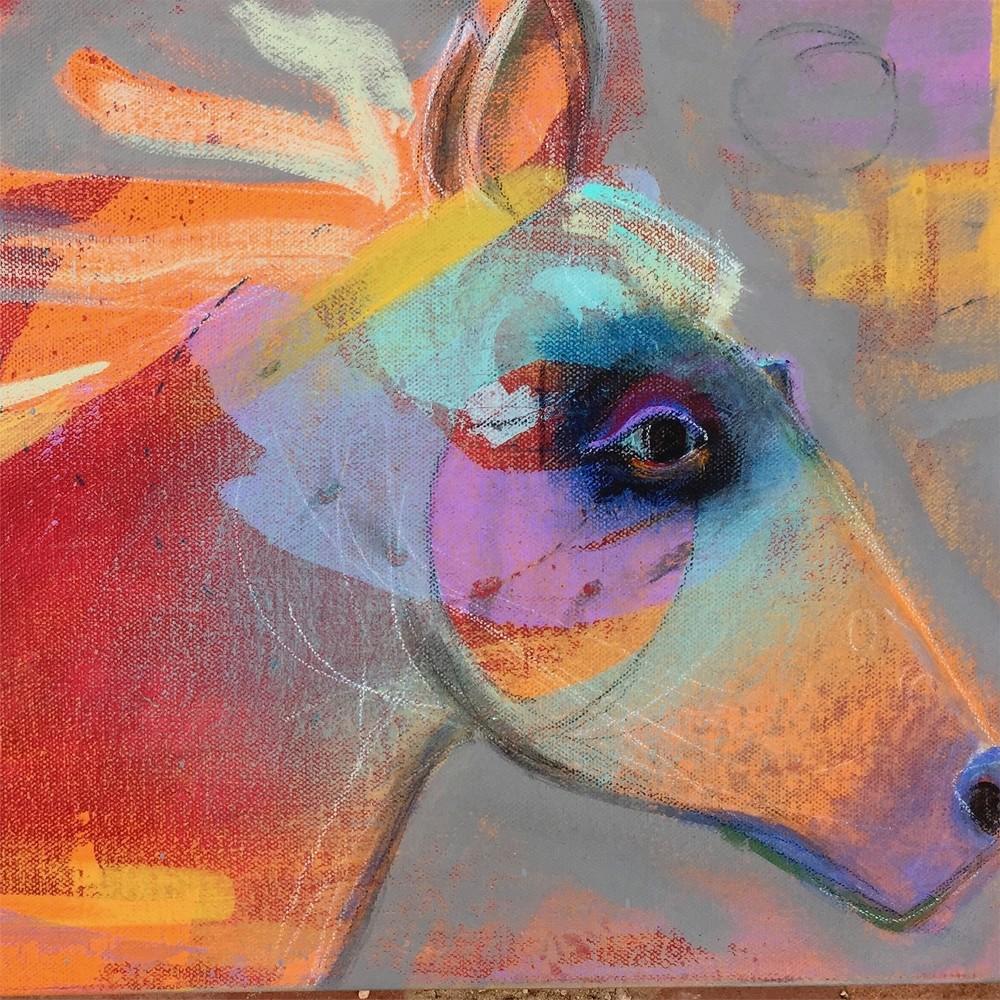 Red Pony Print