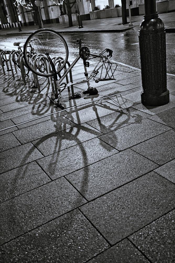 Sidewalk Rider Art | Martin Geddes Photography