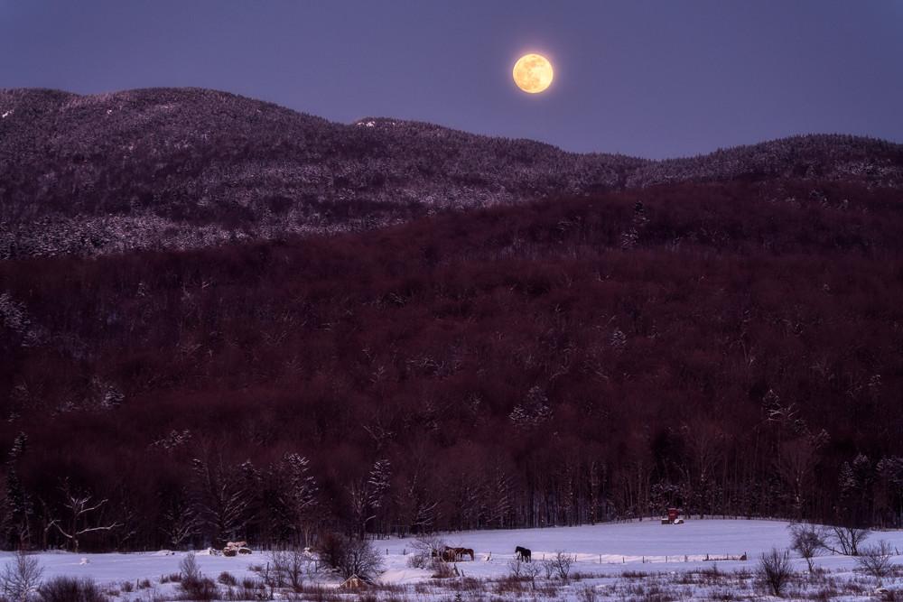 Brewster Ridge Moonrise