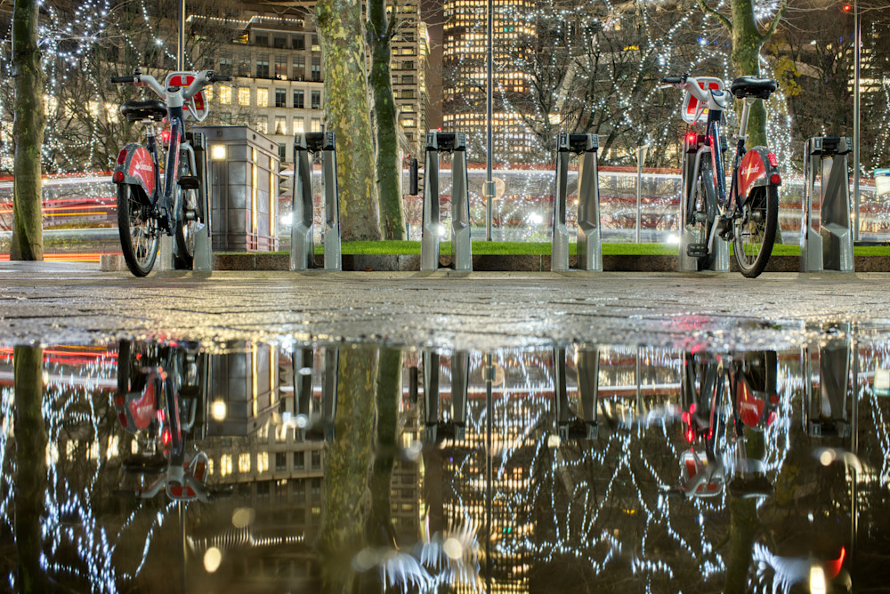 A Couple Of Bikes Art | Martin Geddes Photography
