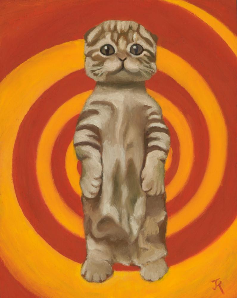 art of cat hypnotizing