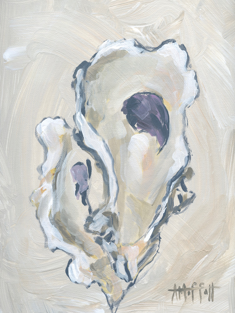 GICLEE PRINT Beige Oyster 2
