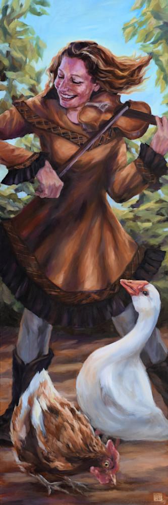 The Fiddler  Art   Ans Taylor Art