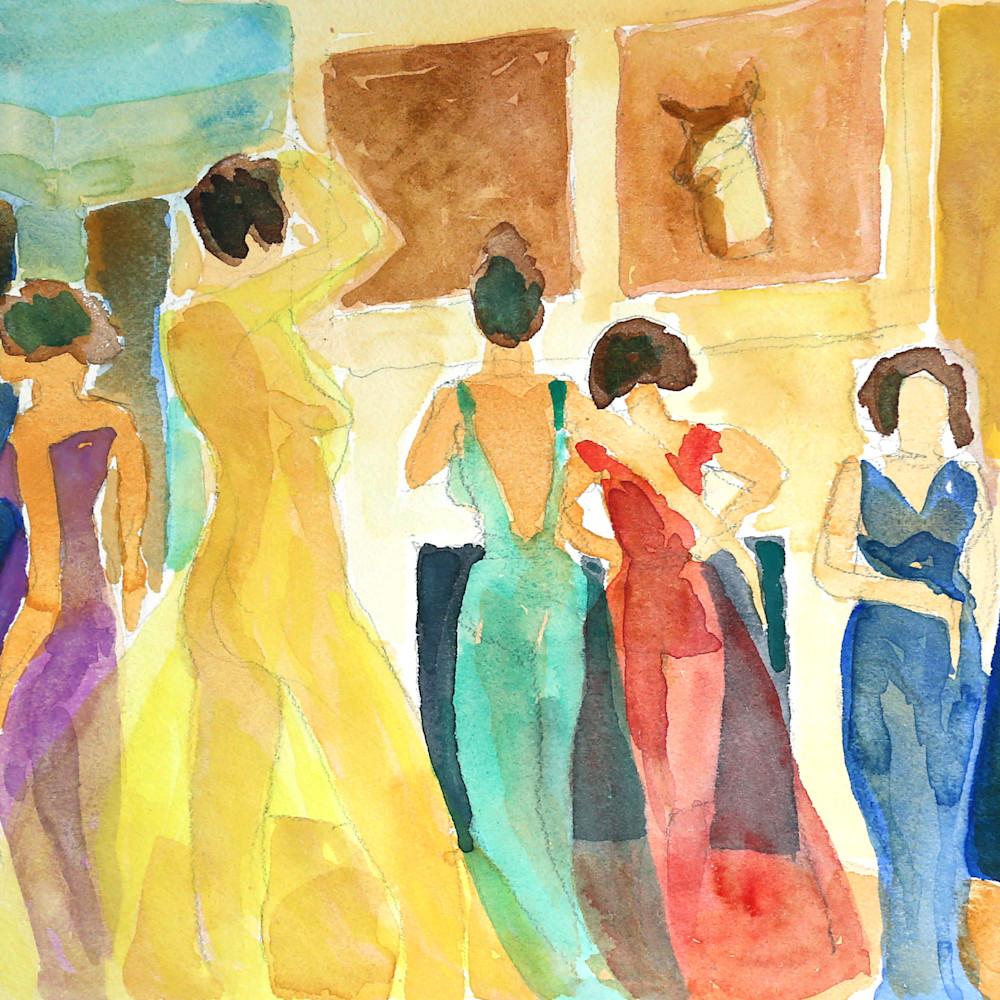 Ballroom Ii Art | Courtney Miller Bellairs Artist