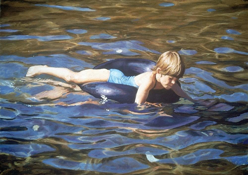 Daydreaming Art   Waif Mullins Art