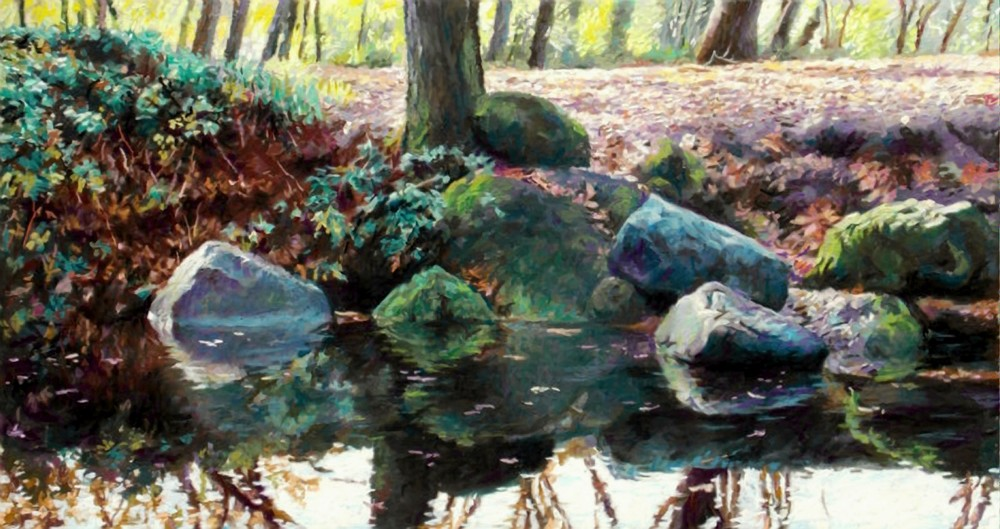 Creekside  Art | Waif Mullins Art