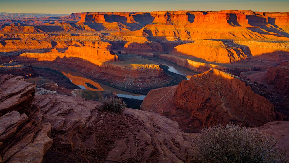 Dead Horse Point overlook near Moab, Utah USA