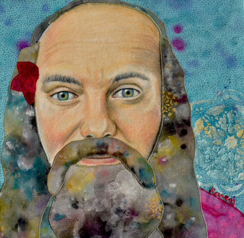 Ram Dass Loving Awareness Art | Karen Payton Art