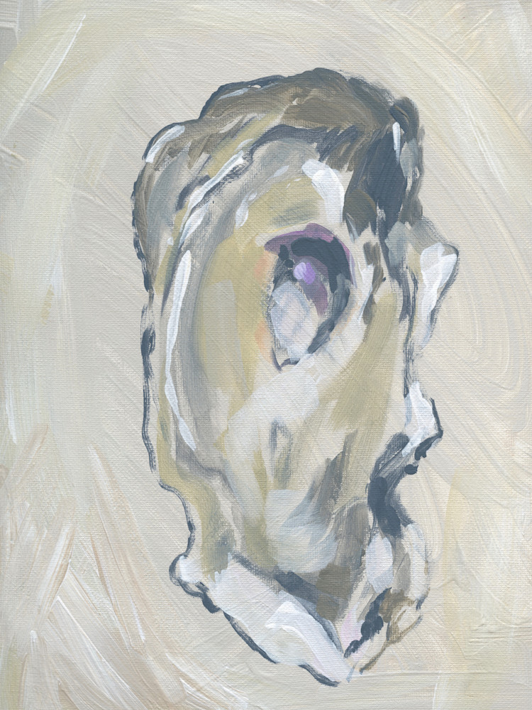 GICLEE PRINT Beige Oyster 1