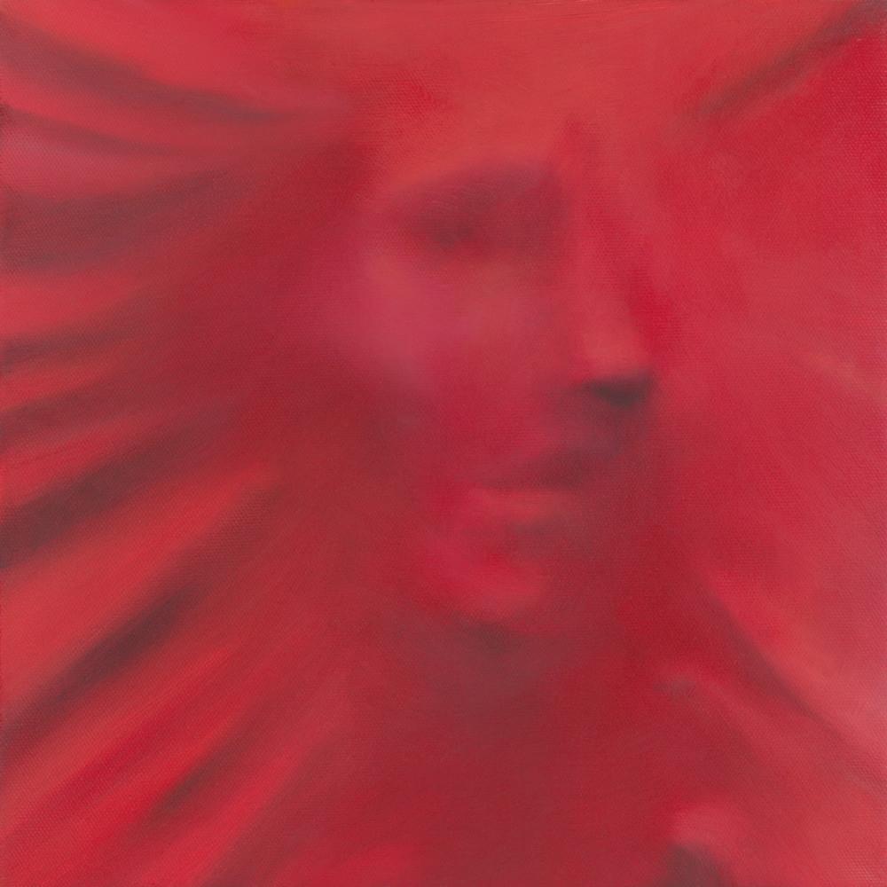 Carrington Arts - red minimal painting