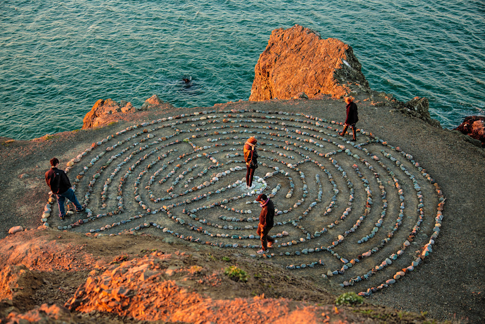 The Labyrinth at Lands End, San Francisco