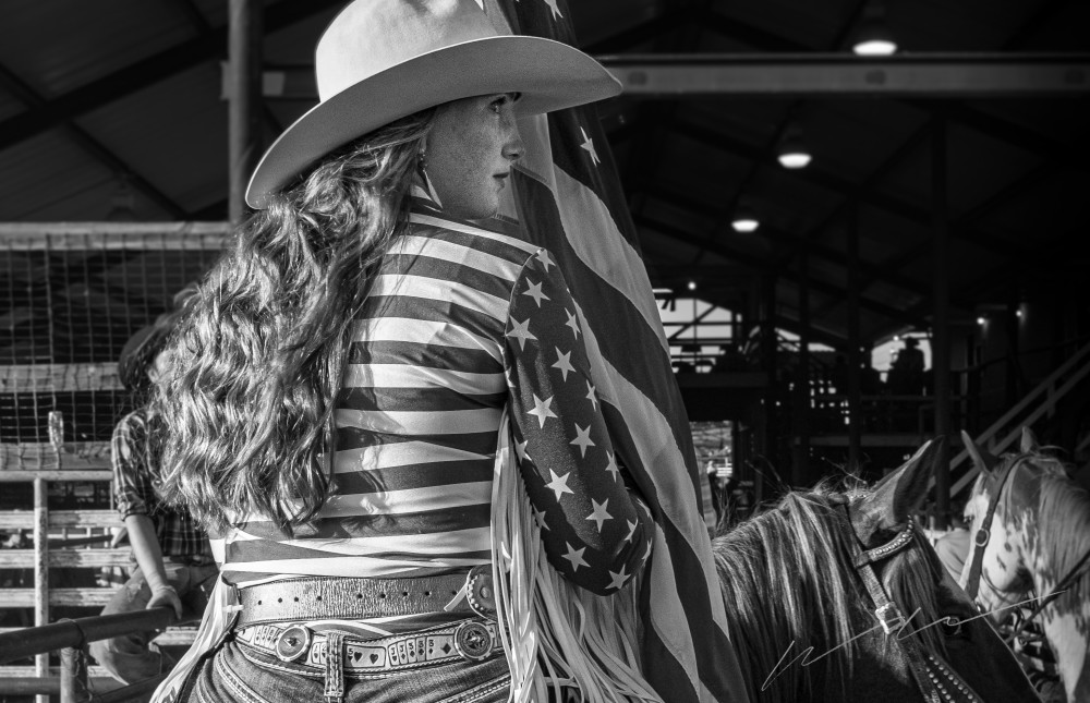Cowgirl Photography Art | Harry John Kerker Photo Artist