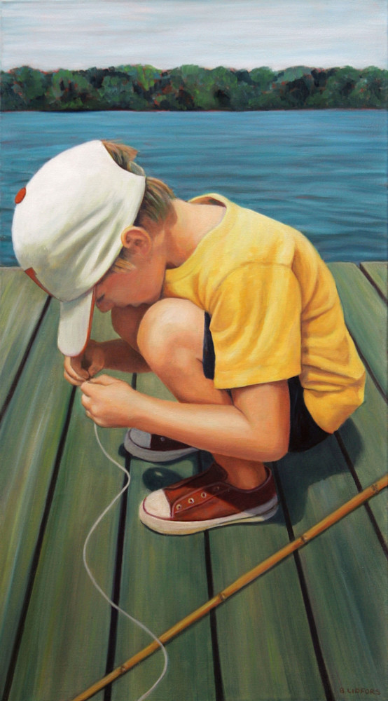 The Worm And The Hook Art | Lidfors Art Studio