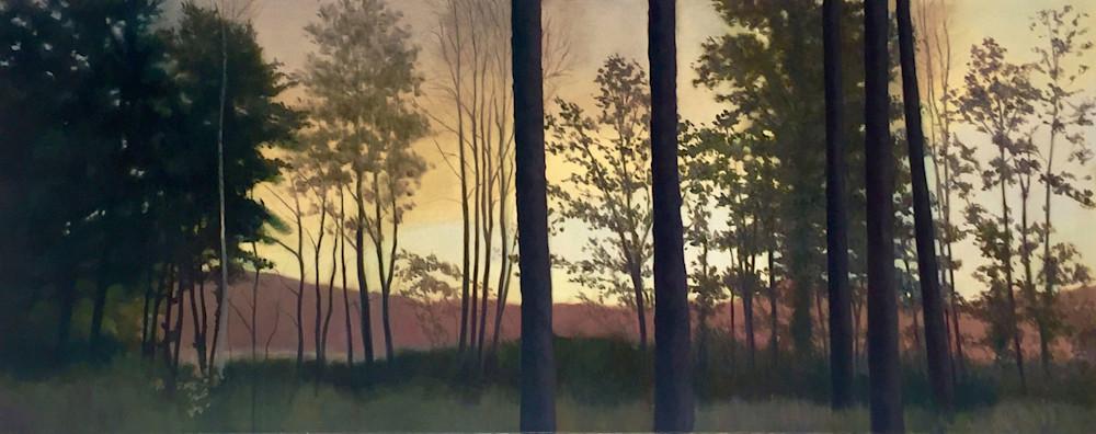 A Long Row Of Trees Art   Lidfors Art Studio