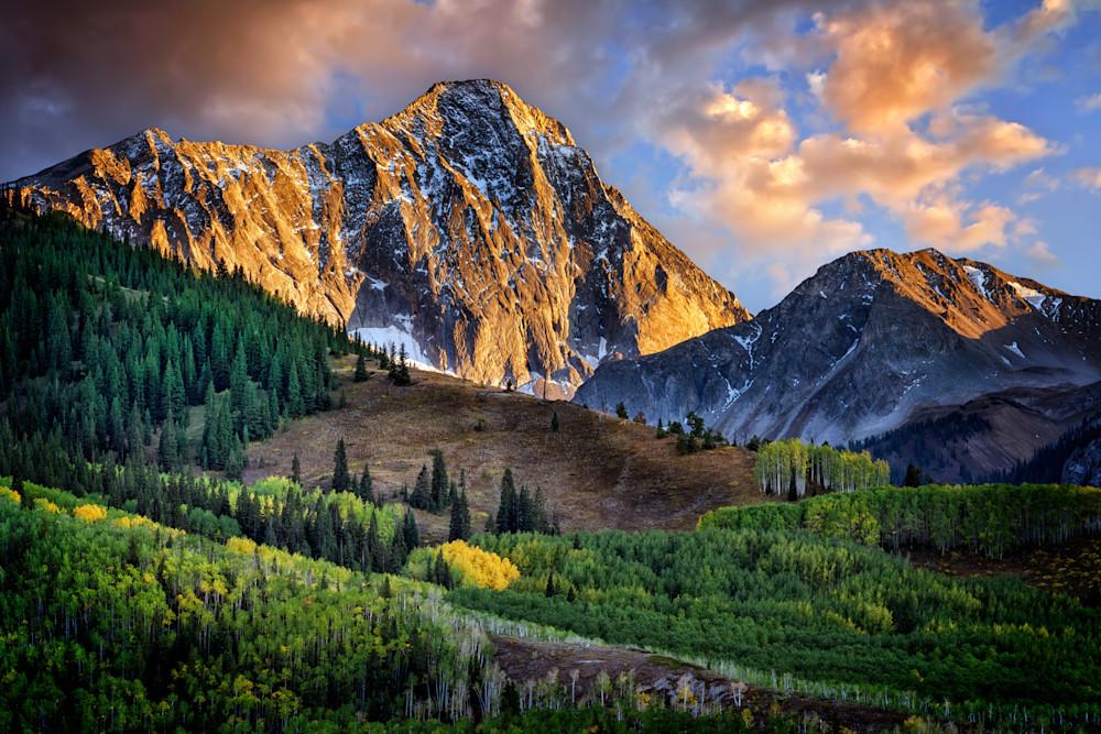 Capitol Peak at Dusk   Shop Photography by Rick Berk