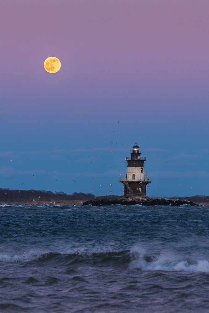 Cold Moon In Orient  Photography Art | Teaga Photo