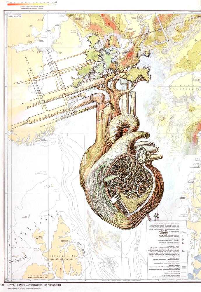 Inventor's Heart Art | artemart