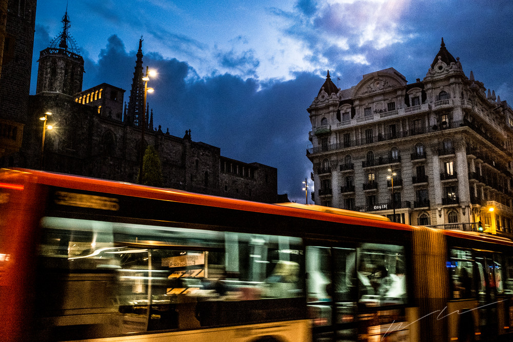 Take The Night Line Photography Art | Harry John Kerker Photo Artist