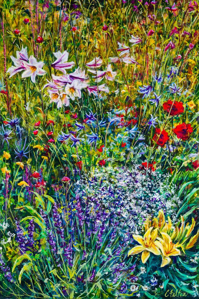 Secret Garden 1 Art | Channe Felton Fine Art