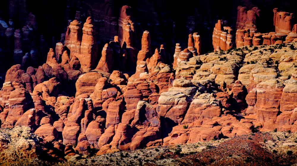 Fiery Furnace, Arches National Park, Utah USA
