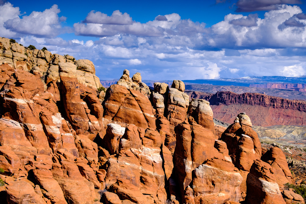 The Fiery Furnace, Arches National Park, Utah
