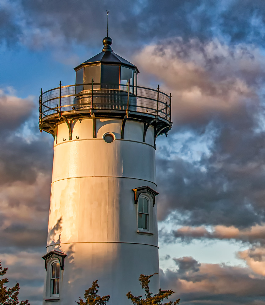 East Chop Light Winter Clouds Art | Michael Blanchard Inspirational Photography - Crossroads Gallery