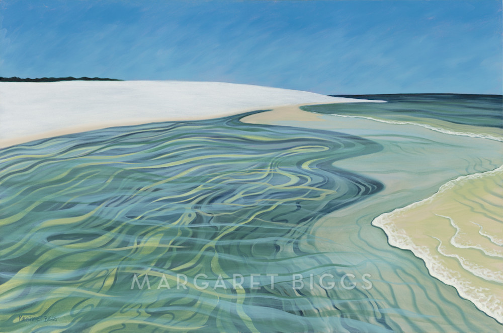 Island Pool Art   Margaret Biggs Fine Art