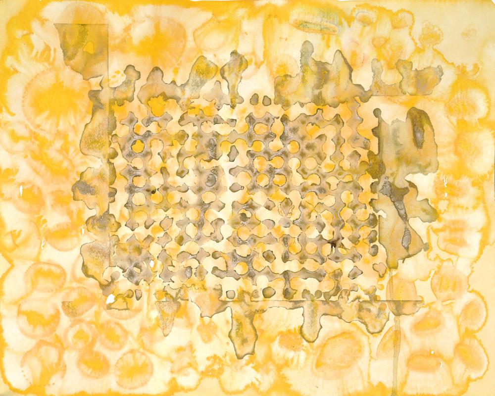 Acorn Grid Art | Courtney Miller Bellairs Artist