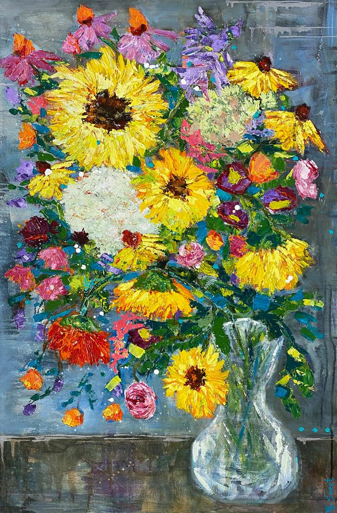 Summer Blooms (Print) Art   Marissa Sweet