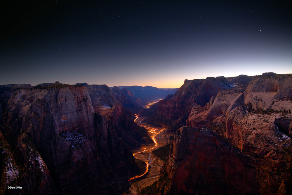 Christmas Star Over Zion